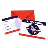 uitnodigingen space control ruimtefeestje