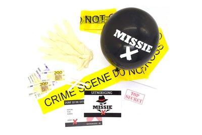 Feestpakket Missie X klein