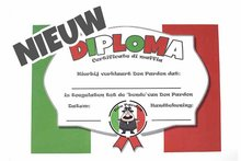 Diploma Don Pardon